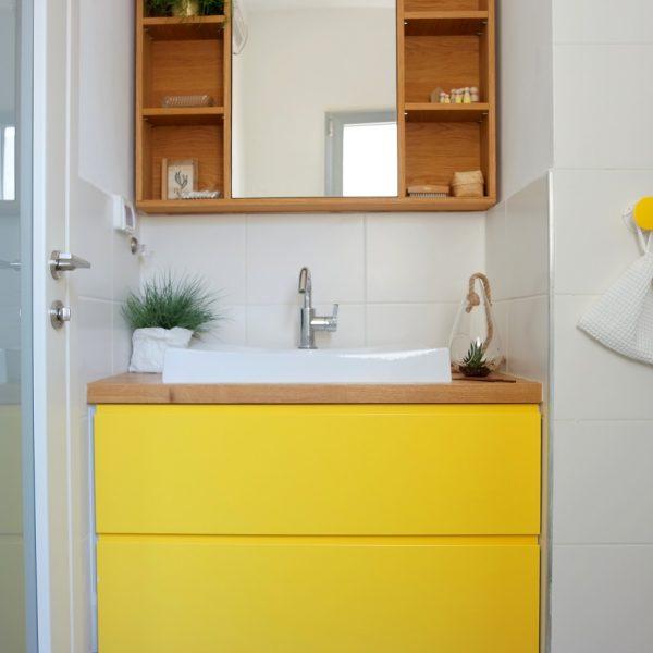 עיצוב ארון אמבטיה אייר שפירא