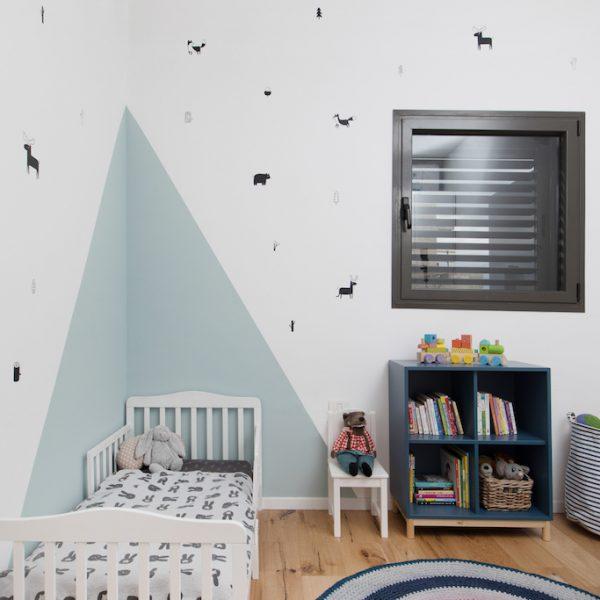 עיצוב חדר ילדים אייר שפירא