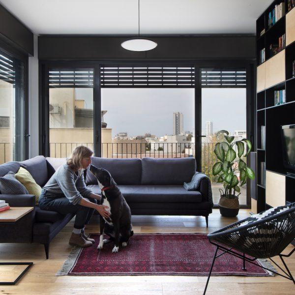 עיצוב סלון אייר שפירא