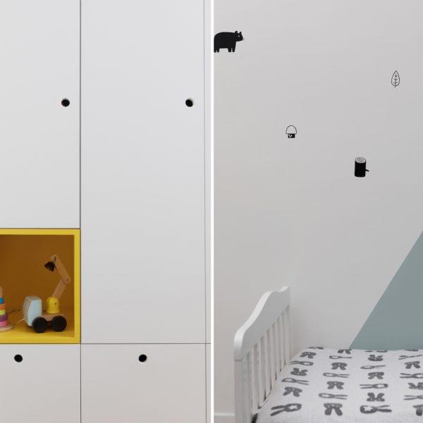 עיצוב פנים חדר ילדים אייר שפירא
