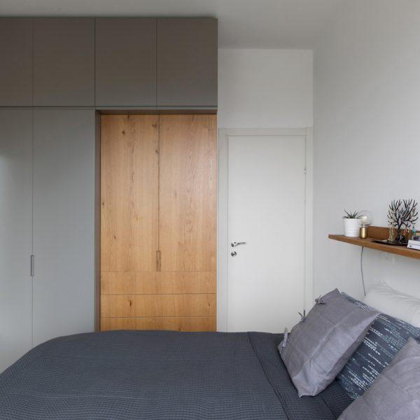 תכנון נגרות חדר שינה אייר שפירא
