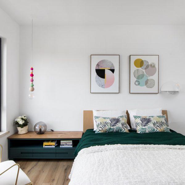 עיצוב חדר הורים - אייר שפירא