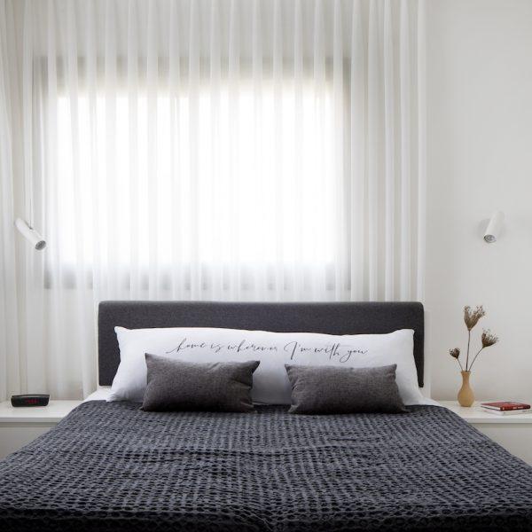 חדר שינה הורים אייר שפירא