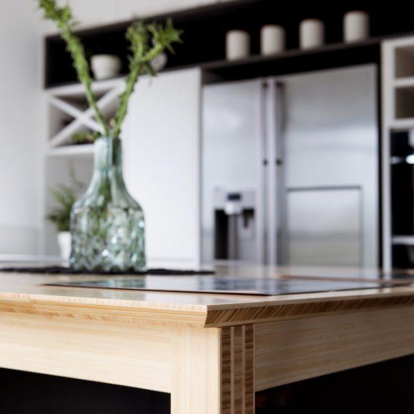 תכנון ועיצוב אי מטבח - אייר שפירא