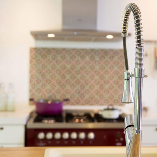 תנור צבעוני אייר שפירא עיצוב פנים