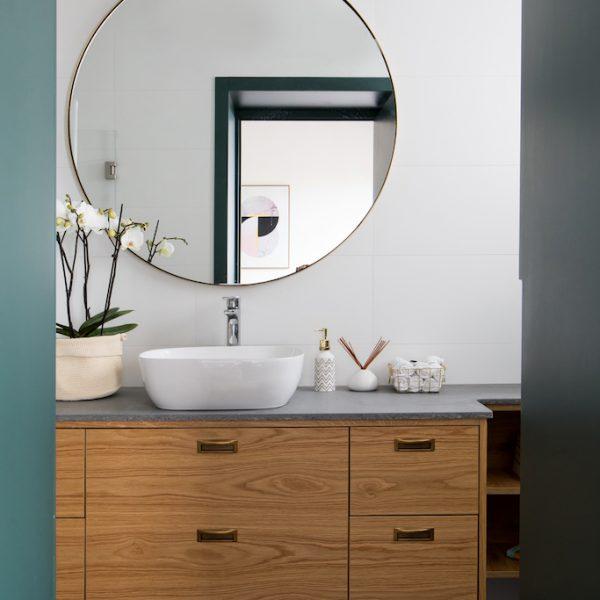 עיצוב מקלחת הורים - אייר שפירא