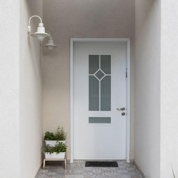 עיצוב דלת כניסה - אייר שפירא