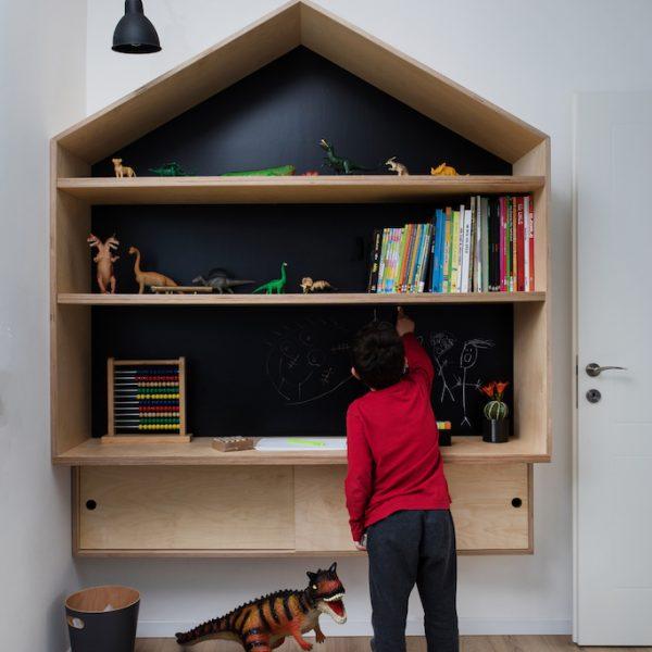 תכנון נגרות חדר ילדים - אייר שפירא