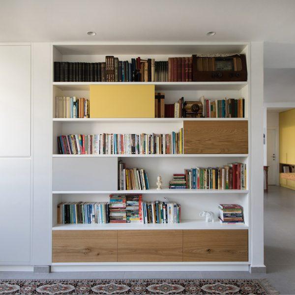 עיצוב ספרייה אייר שפירא
